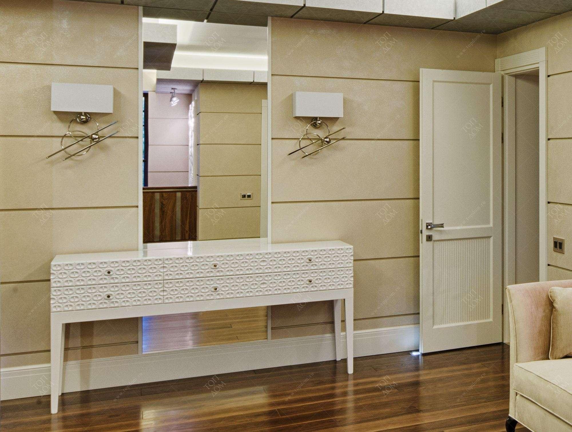 Дизайн проект интерьера спальни в
