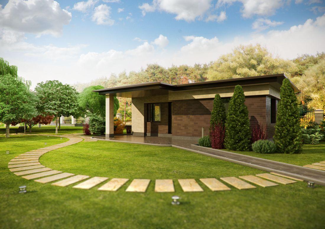 Дизайн территорий загородных домов