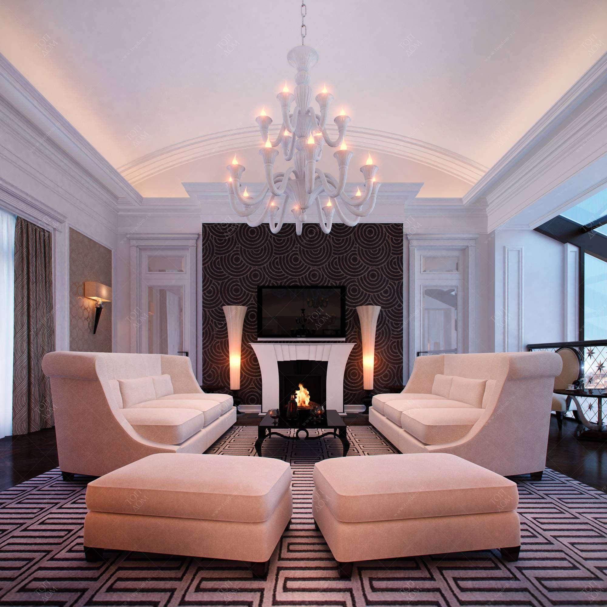 Фото современного интерьера гостиной