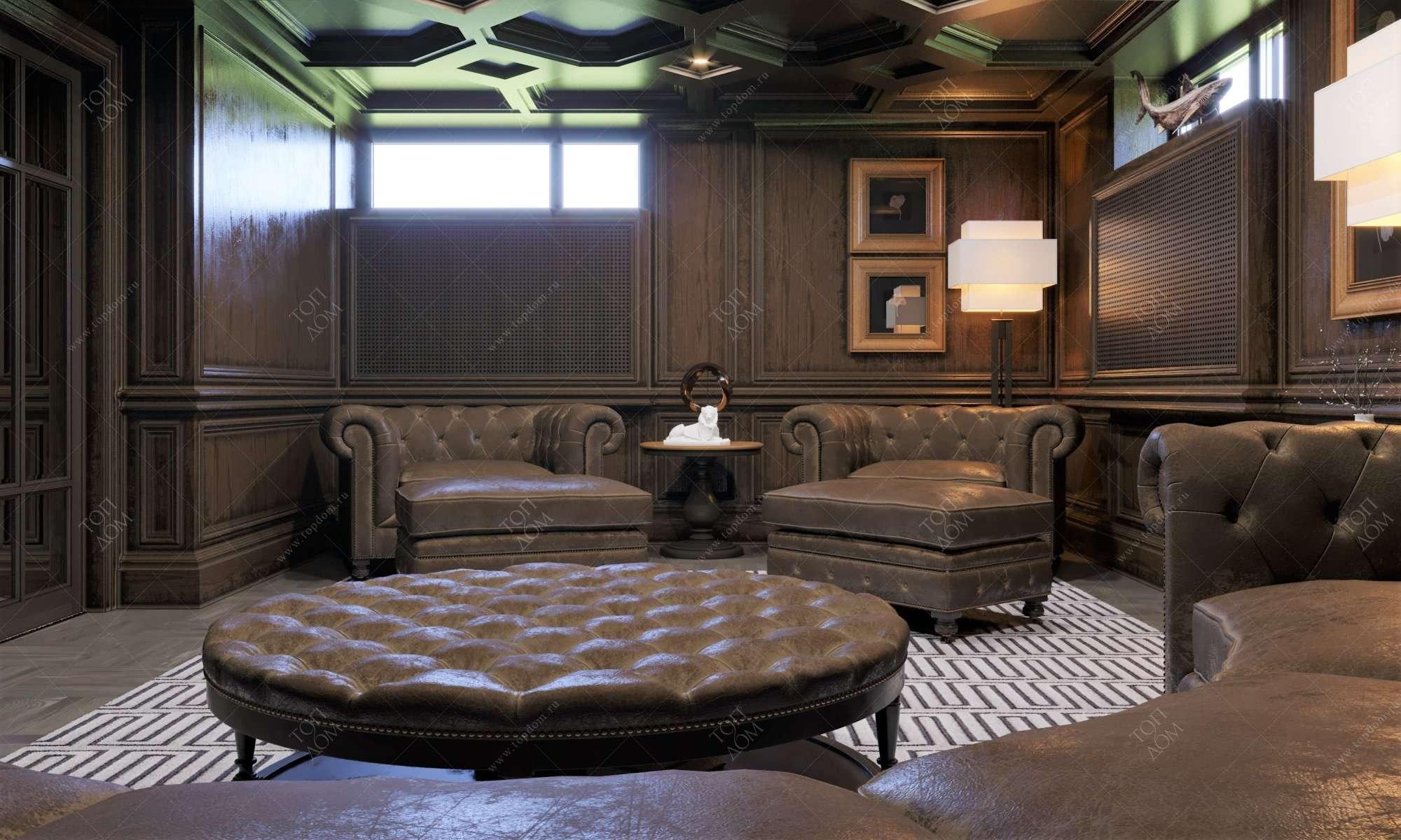 Галерея фото интерьеров домов в классическом стиле