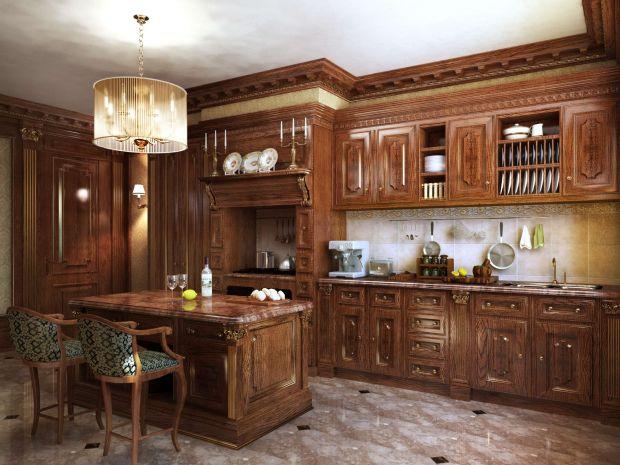 Кухня в стиле классицизма