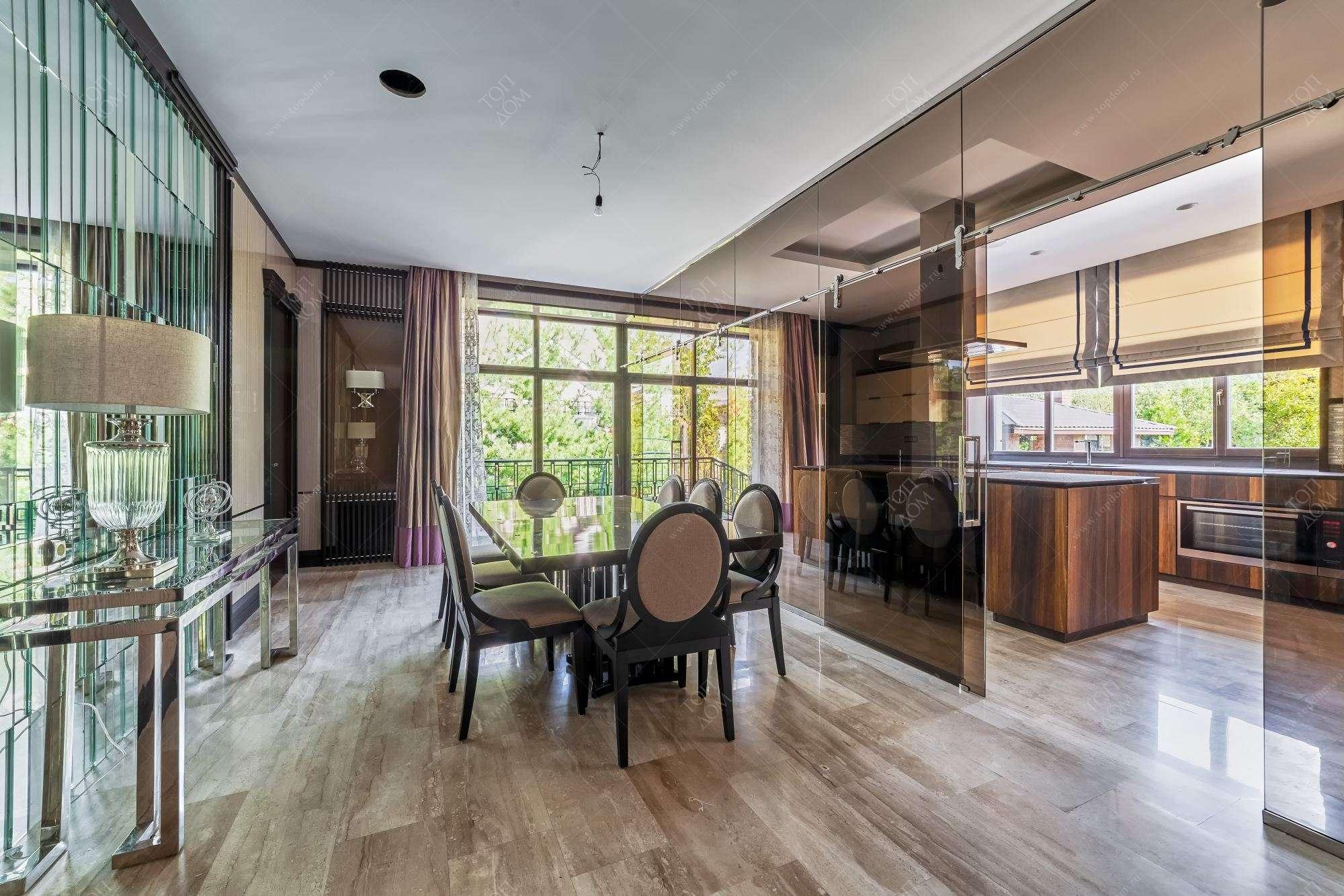 Дизайн интерьера кухня и столовая
