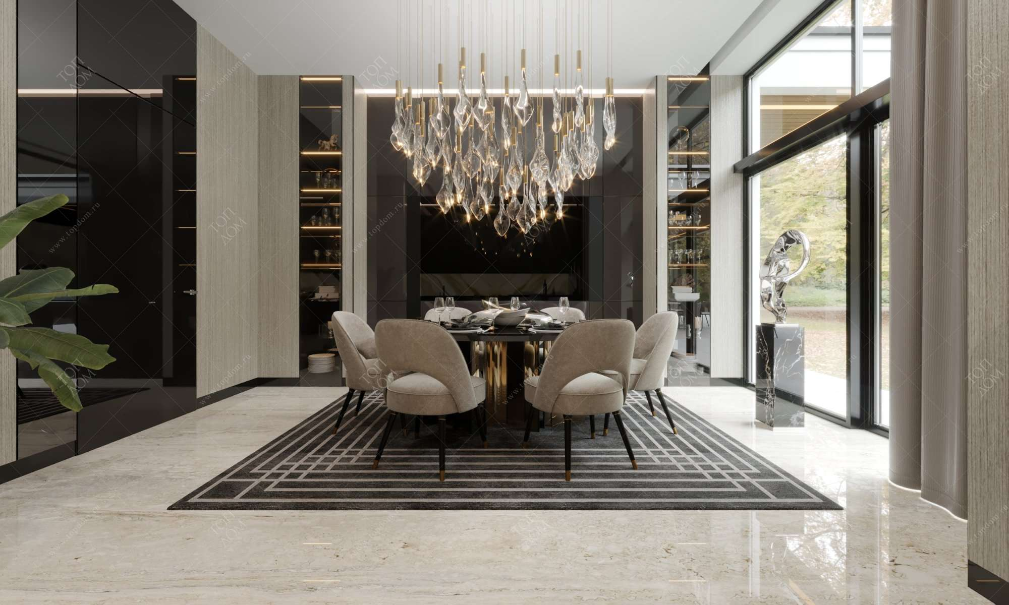 Дизайн гостиной в своем доме