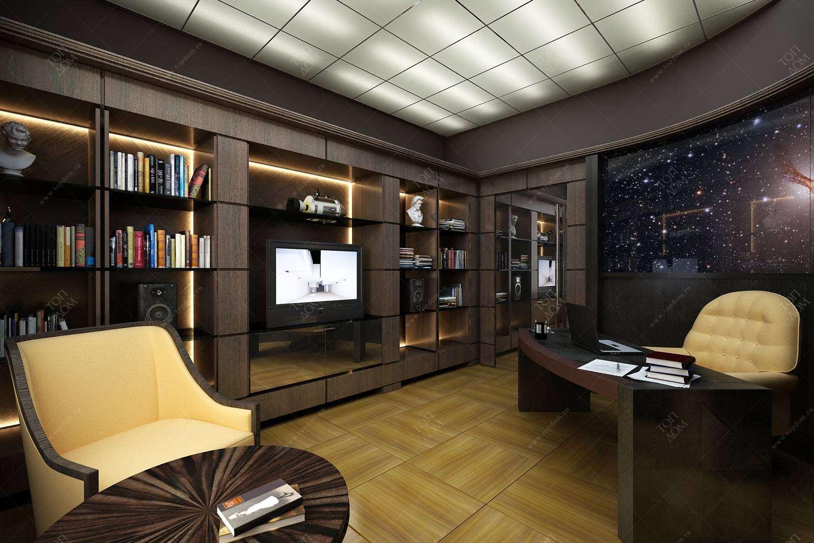 дорог дизайн домашнего кабинета с фото примечательна покраска фасадов