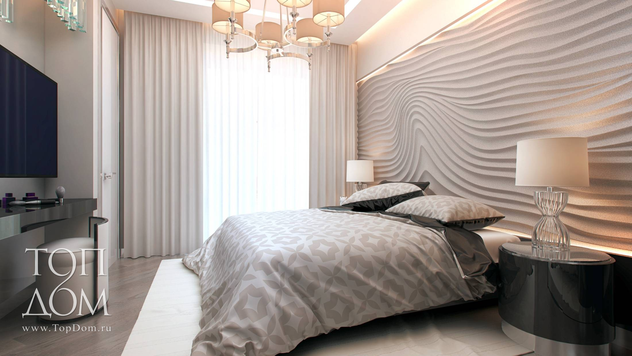 Дизайн спальни классика 2016 фото
