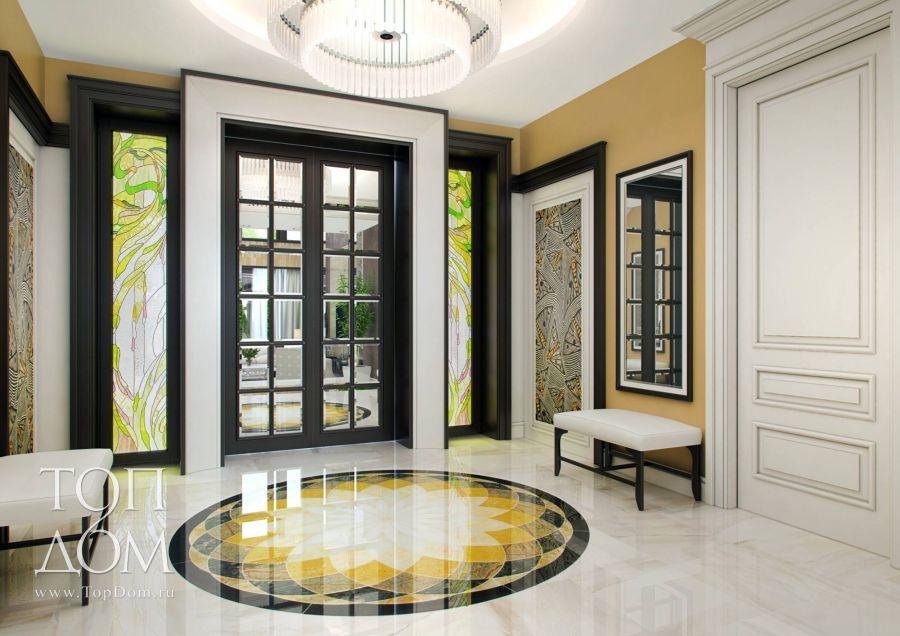 Дизайн проекты интерьеров загородных домов фото