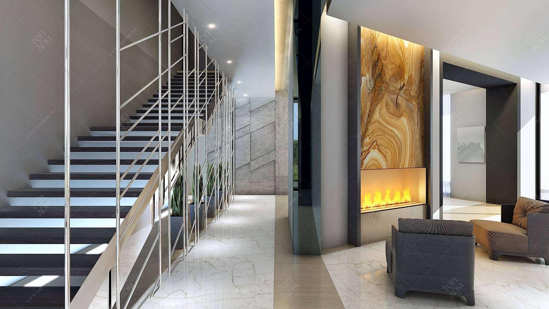 Современный дизайн лестниц