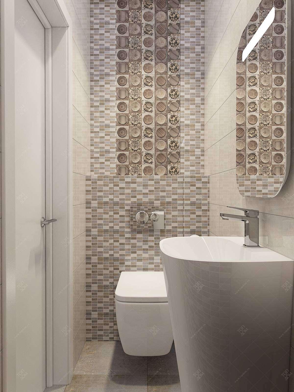 Дизайн интерьера туалетов санузлов в квартирах и домах