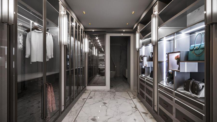 56ea30fd90b3a Встроенная подсветка в интерьере гардеробной комнаты Дизайн-проект  гардероба со встроенной подсветкой