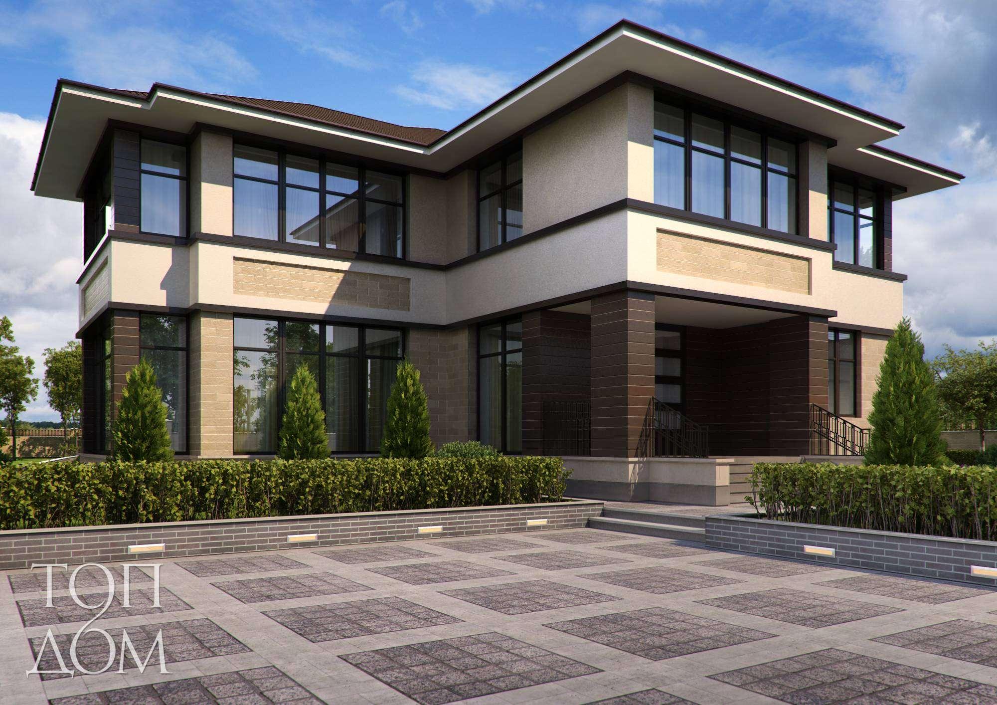 Проект дизайна частного дома