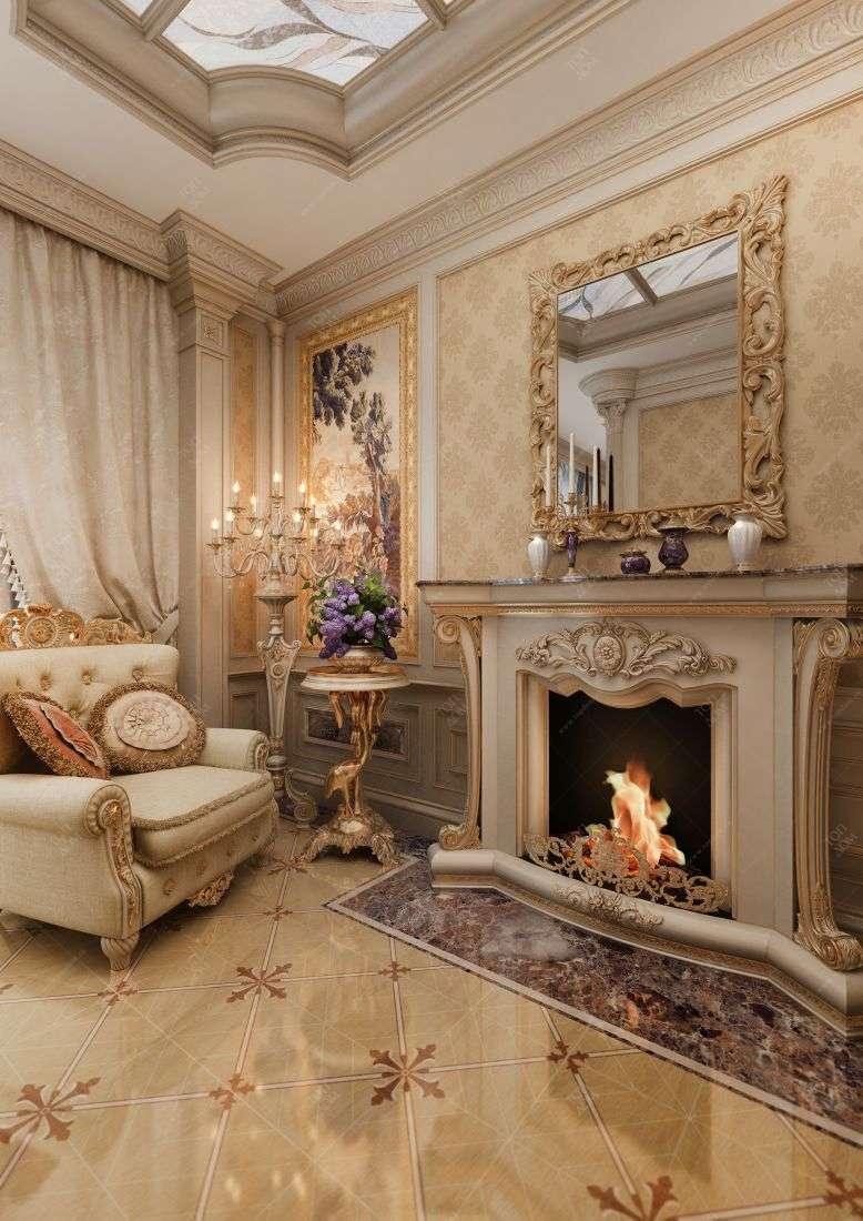 Дизайн спальни в классическом стиле в
