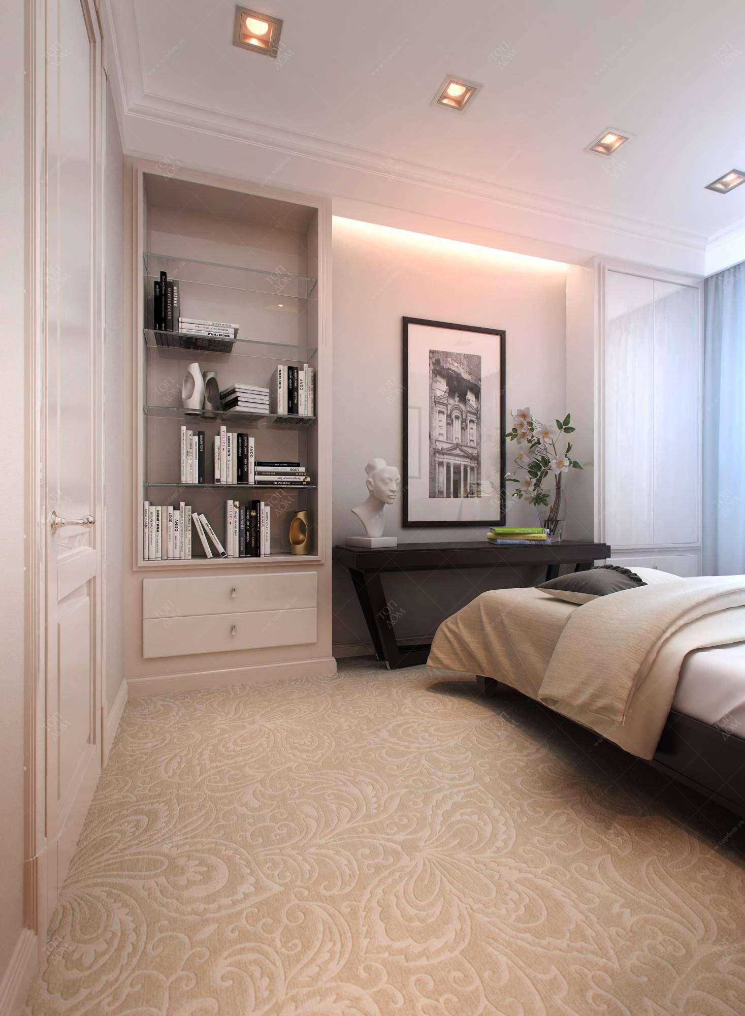 Фото дизайна интерьера спальни в