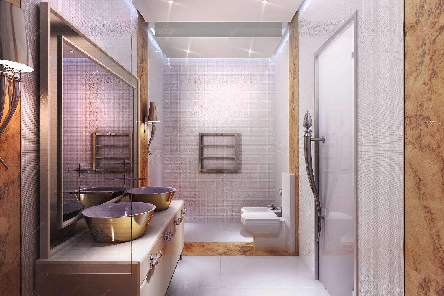 Туалета в классическом стиле в