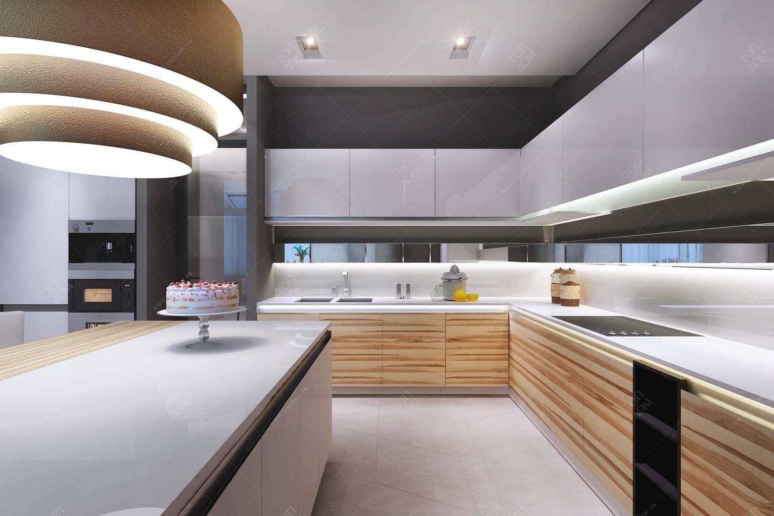 Дизайн интерьера кухни 2018 года > 260 фото в квартирах и ...