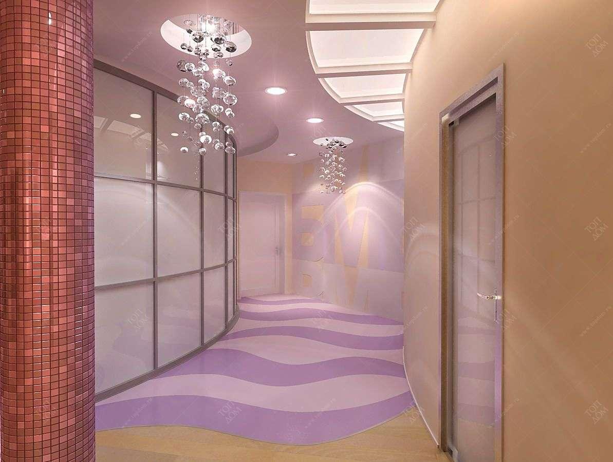 Дизайн интерьера коридора.