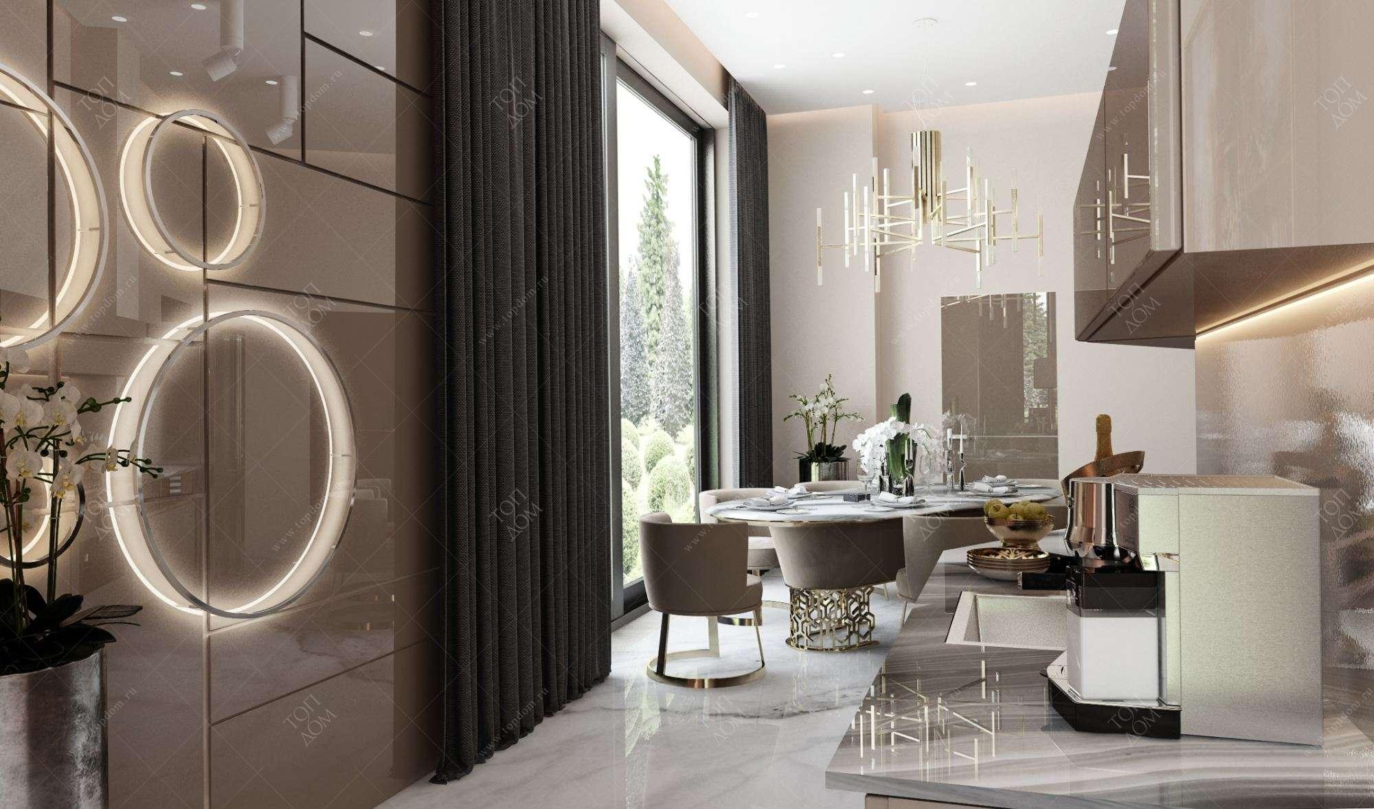Дизайн интерьер гостиной комнаты