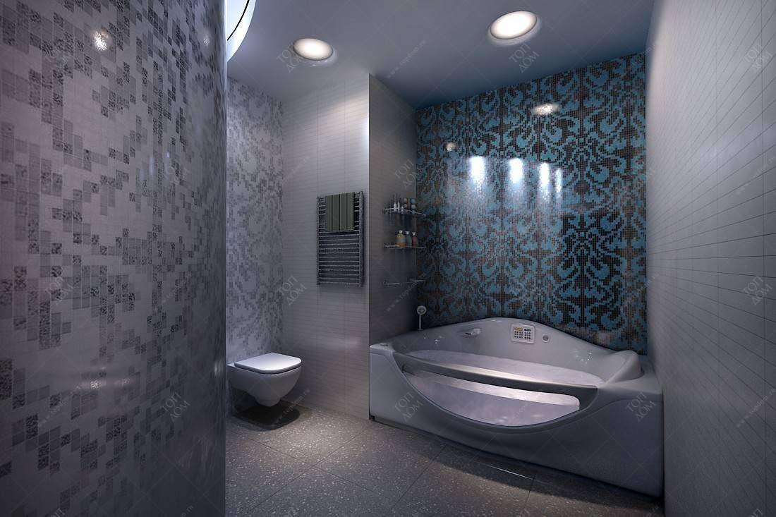 Дизайн проект интерьера санузла