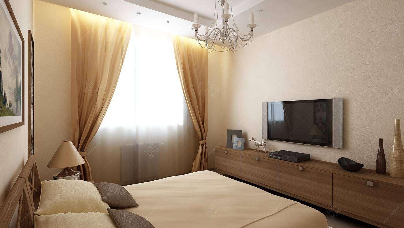 Дизайн спальни 1000 декорс.