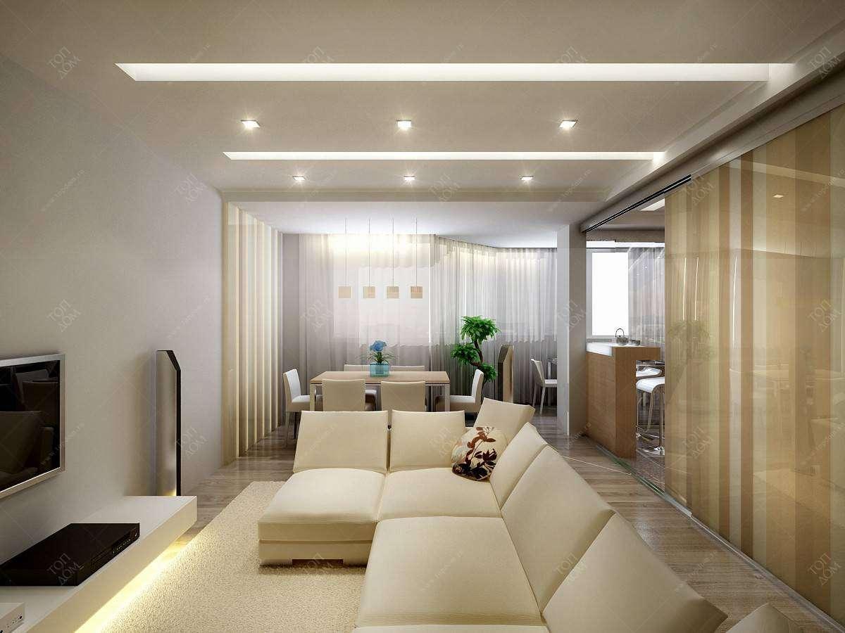 """Дизайн гостиной в хрущевке - 18 кв м"""" - карточка пользовател."""