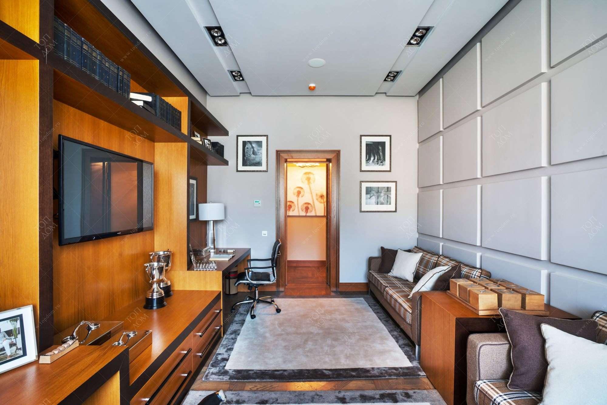 Дизайн гостиной и столовой в квартире