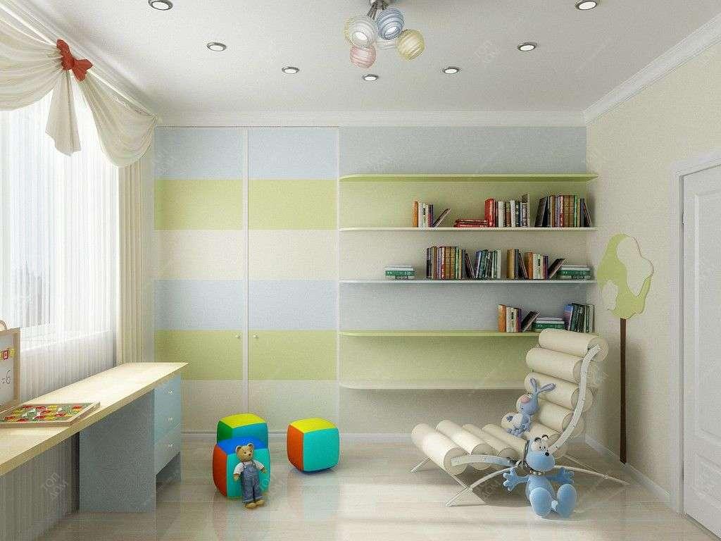 Проекты интерьера детской комнаты в квартирах.