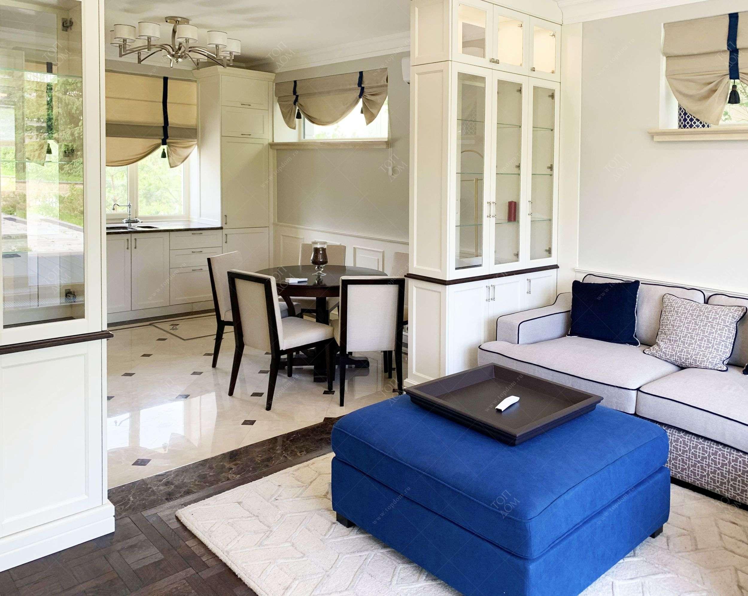 Дизайн проект интерьера столовой