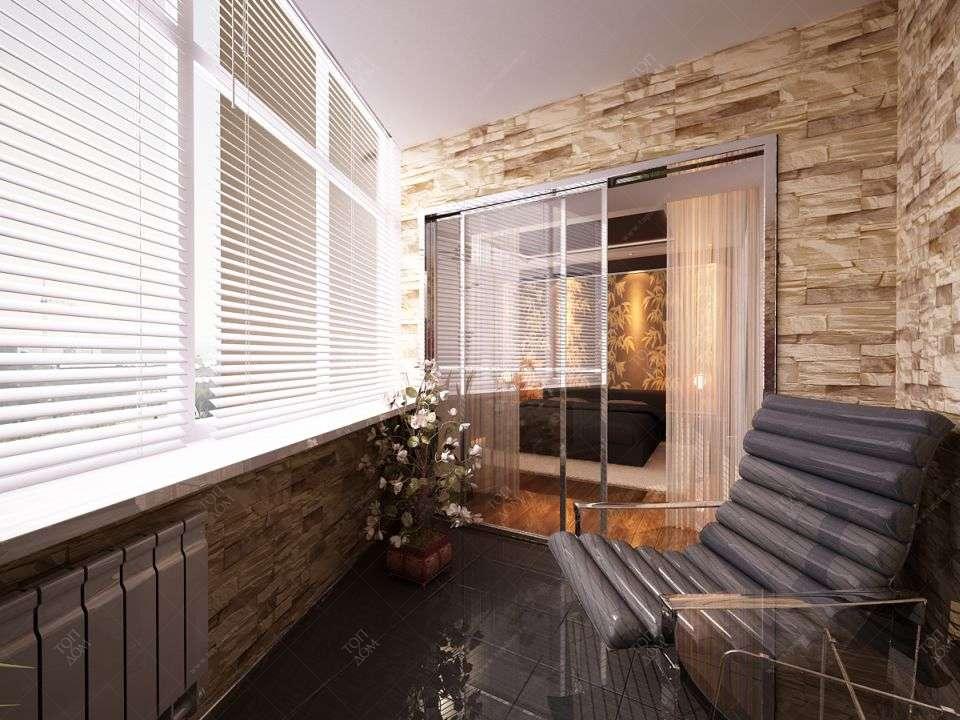 балконы лоджии дизайн фото