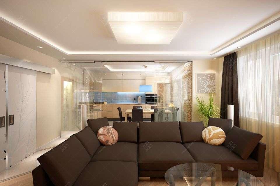 Интерьер проект дизайна гостиной в