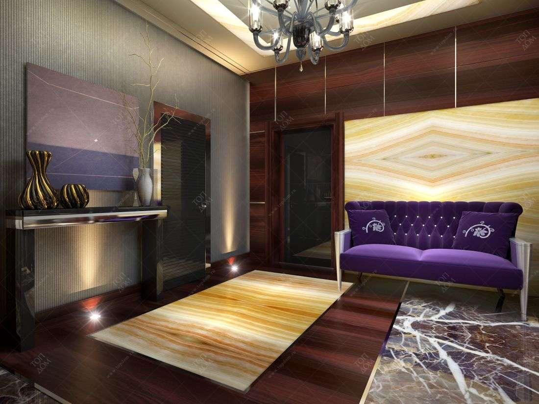 Дизайн проект спальной комнаты в