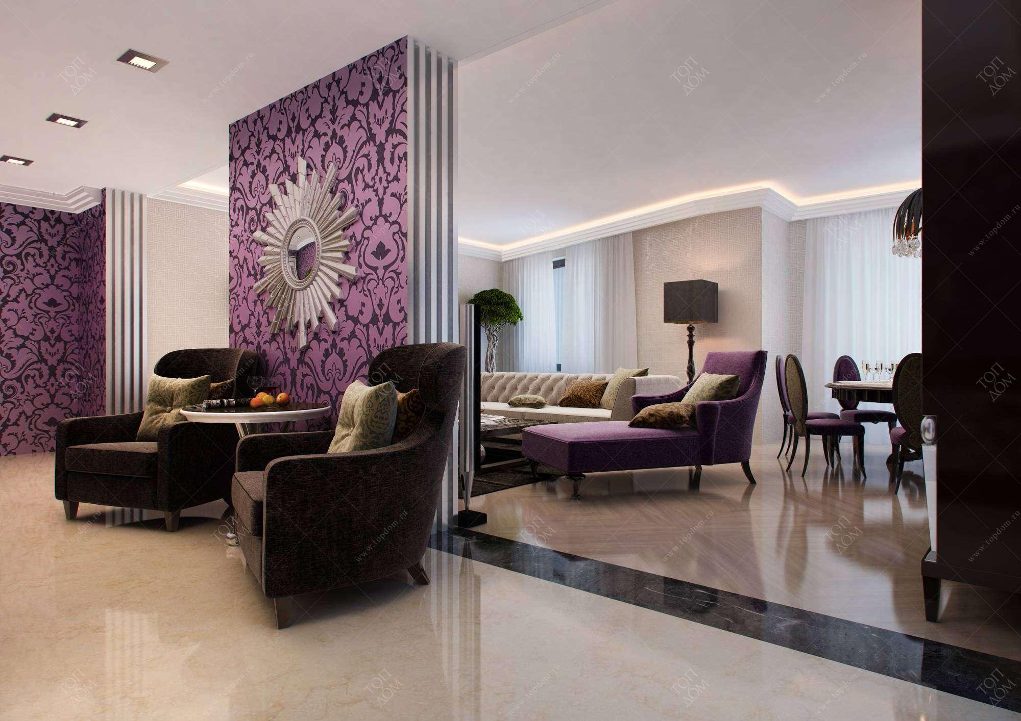 Дизайн интерьера гостиных > 760 фото в квартирах и ...