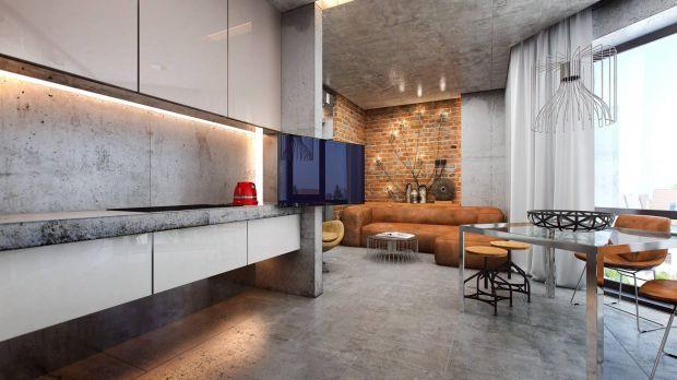 Хранение на кухне в стиле лофт