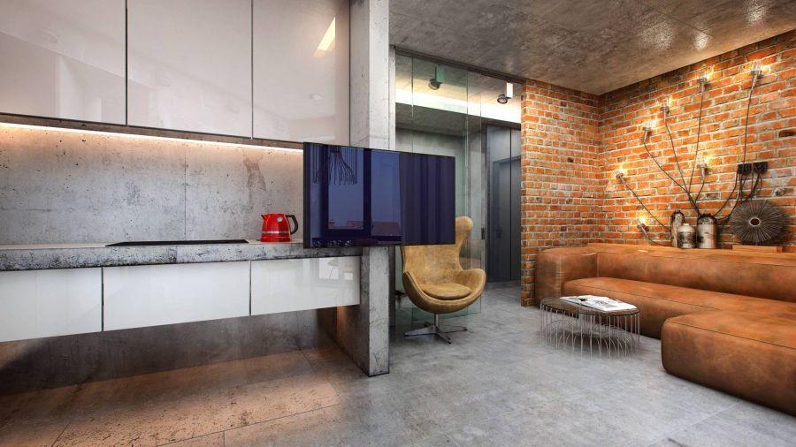 лофт в интерьере квартир и домов 20 фото в стиле лофт