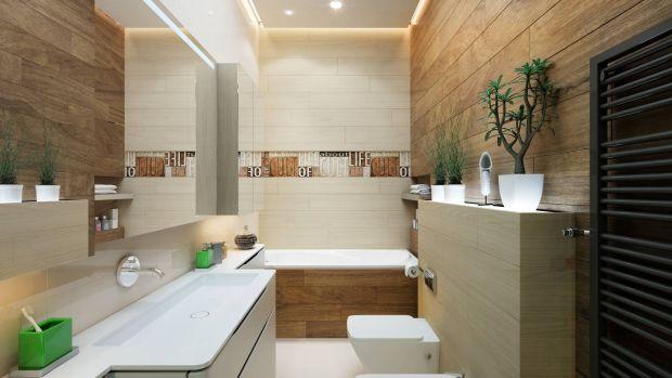 Дизайн ванной в смешанных современных стилях