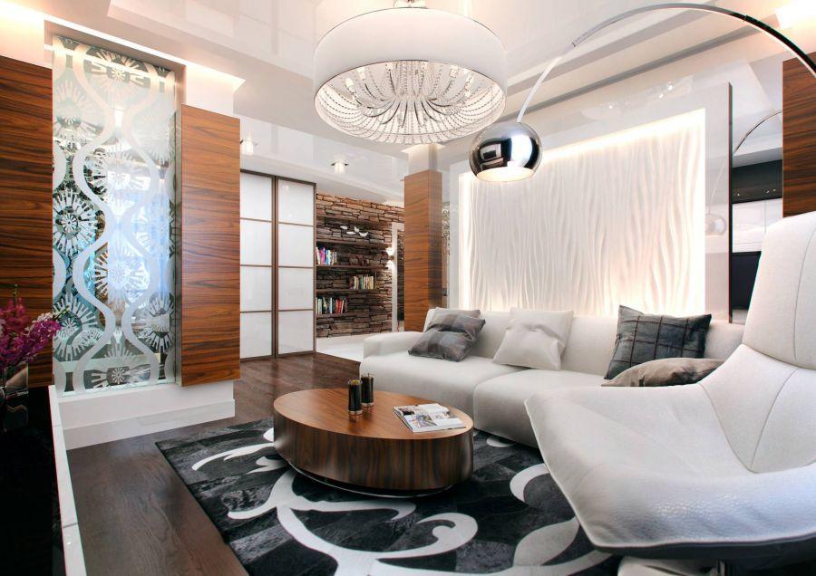 Образцы дизайна интерьеров квартир
