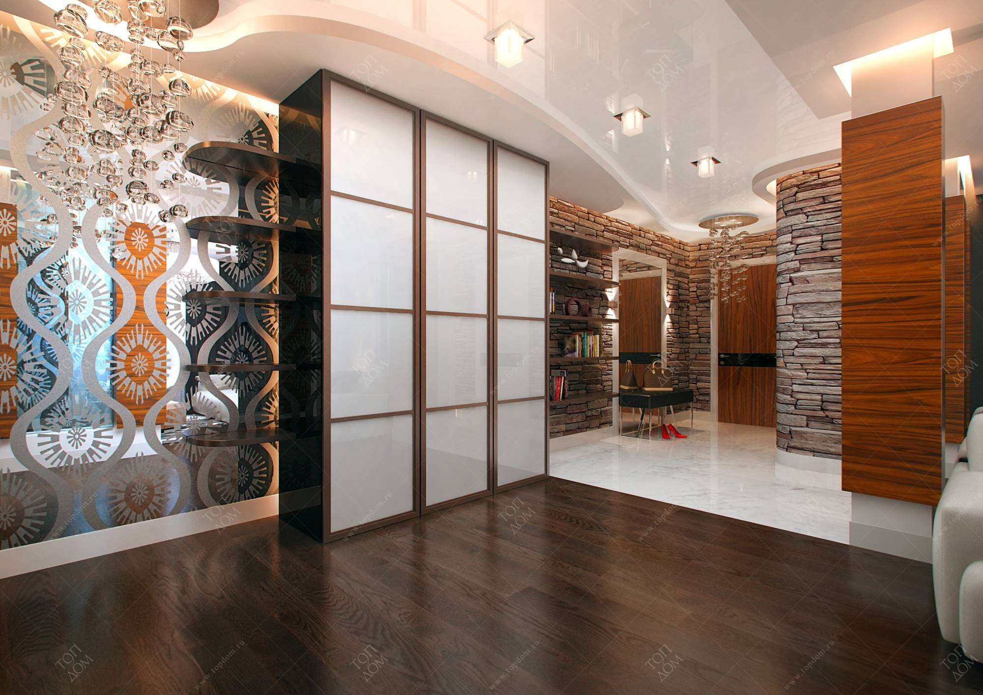 Интерьер коридора дизайн фото