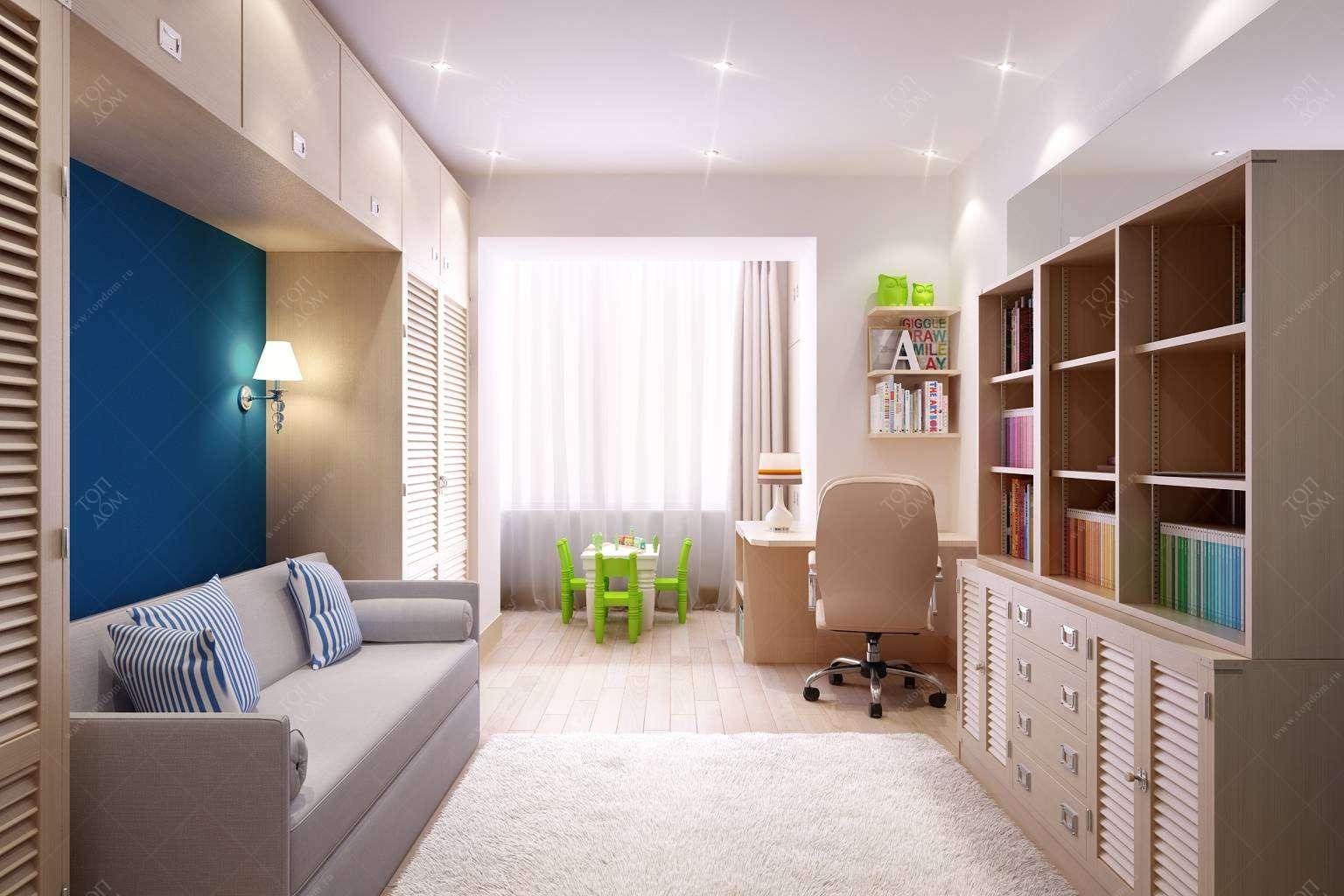 Детские интерьер детской комнаты фото