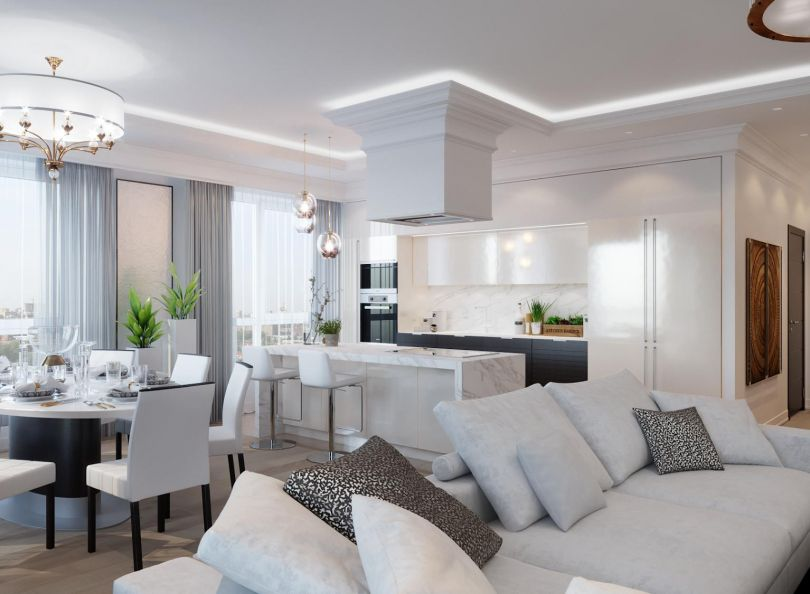 Дизайн интерьера для стильной квартиры