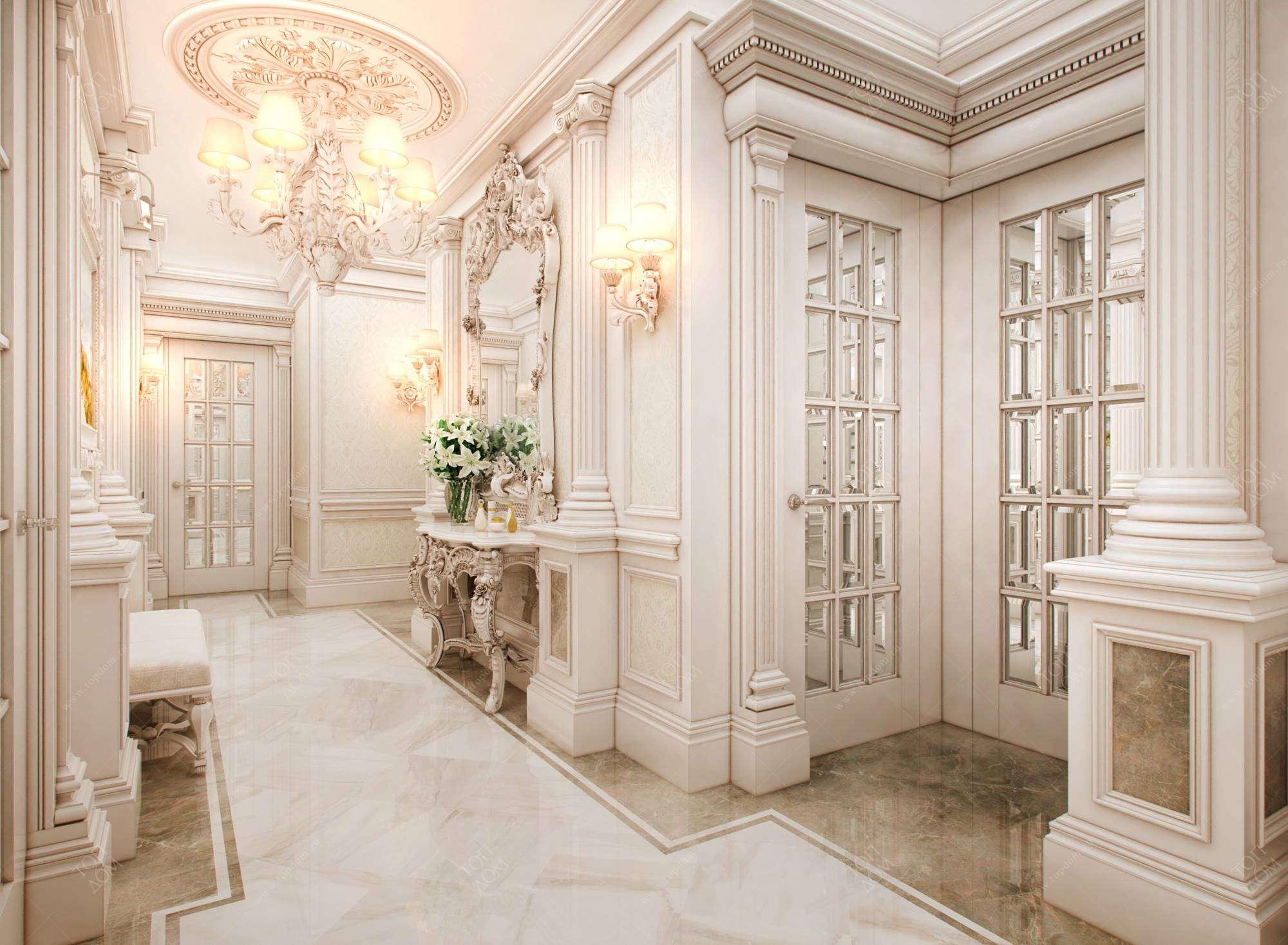 теперь комнаты с колоннами картинки его объективом