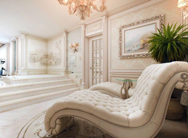 Зона отдыха в дизайне ванной