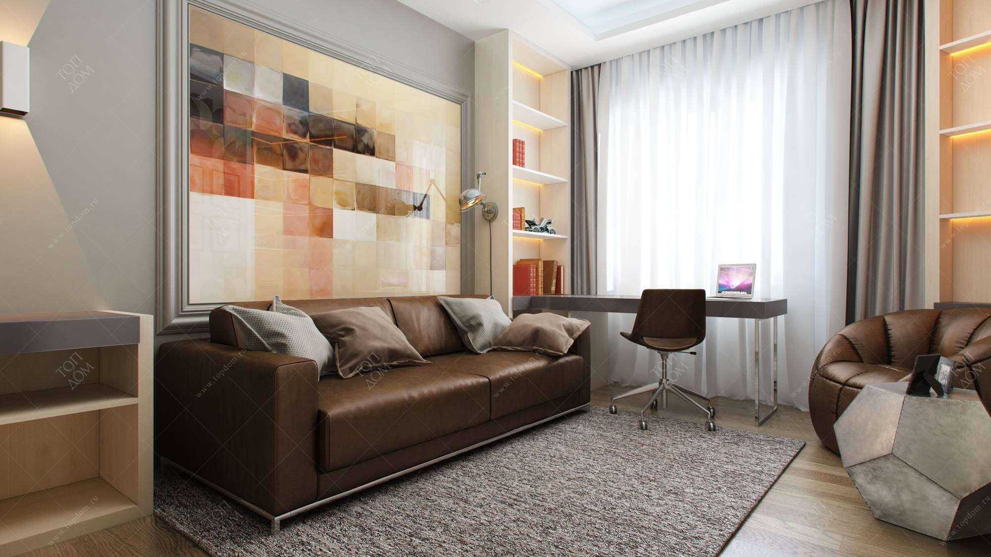 детская комната с диваном фото