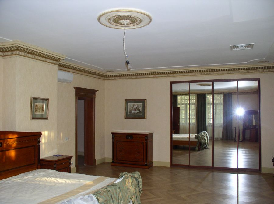 интерьер большого частного дома фото