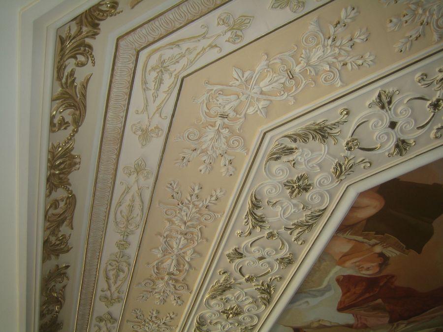 Потолок в квартире после ремонта