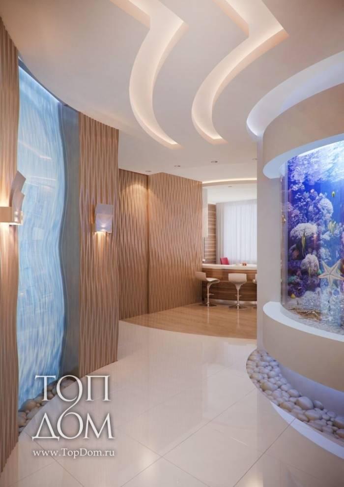 Уютный дизайн интерьера 2-х комнатной квартиры