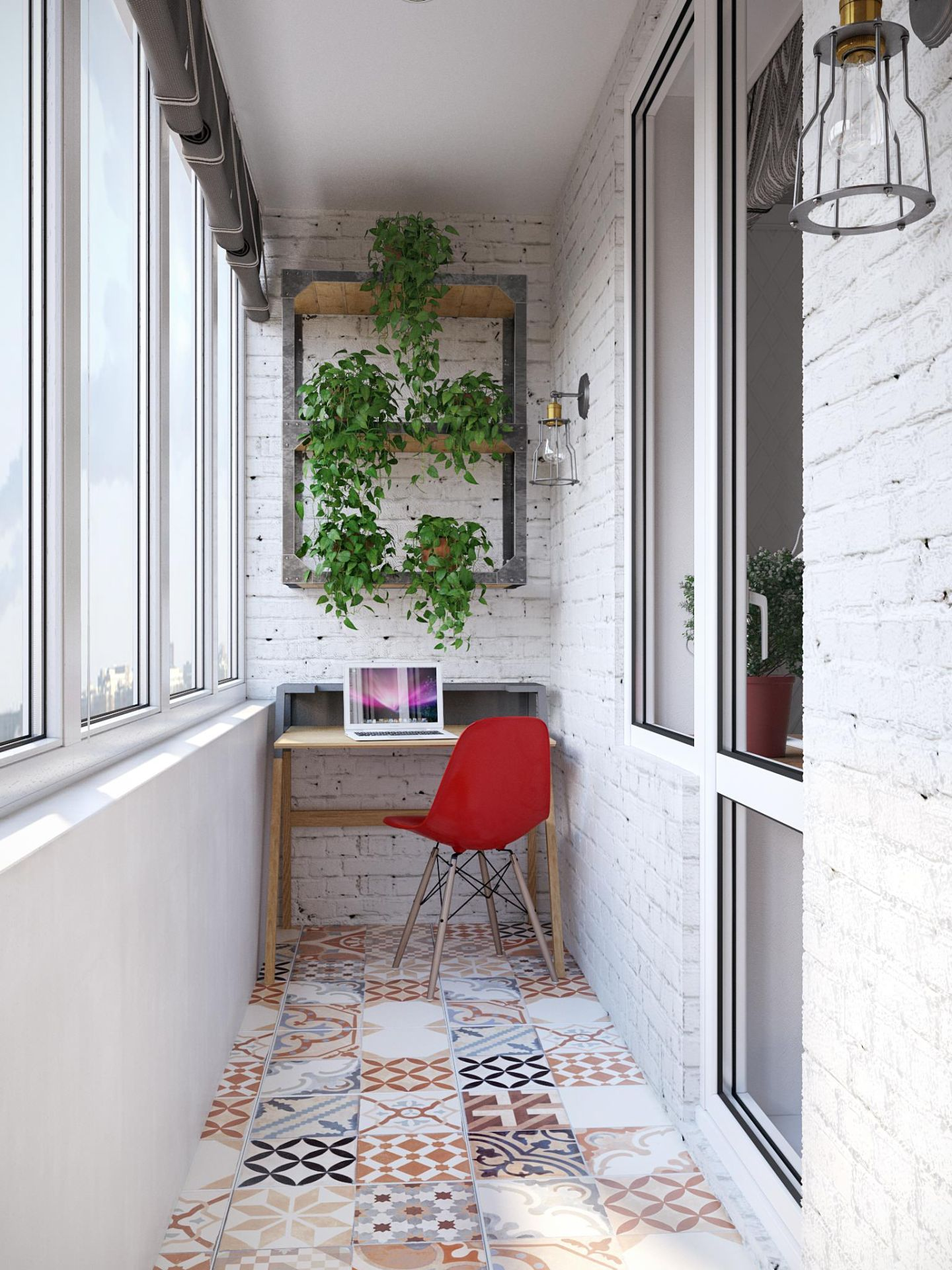 Дизайн и обустройство балкона или лоджии