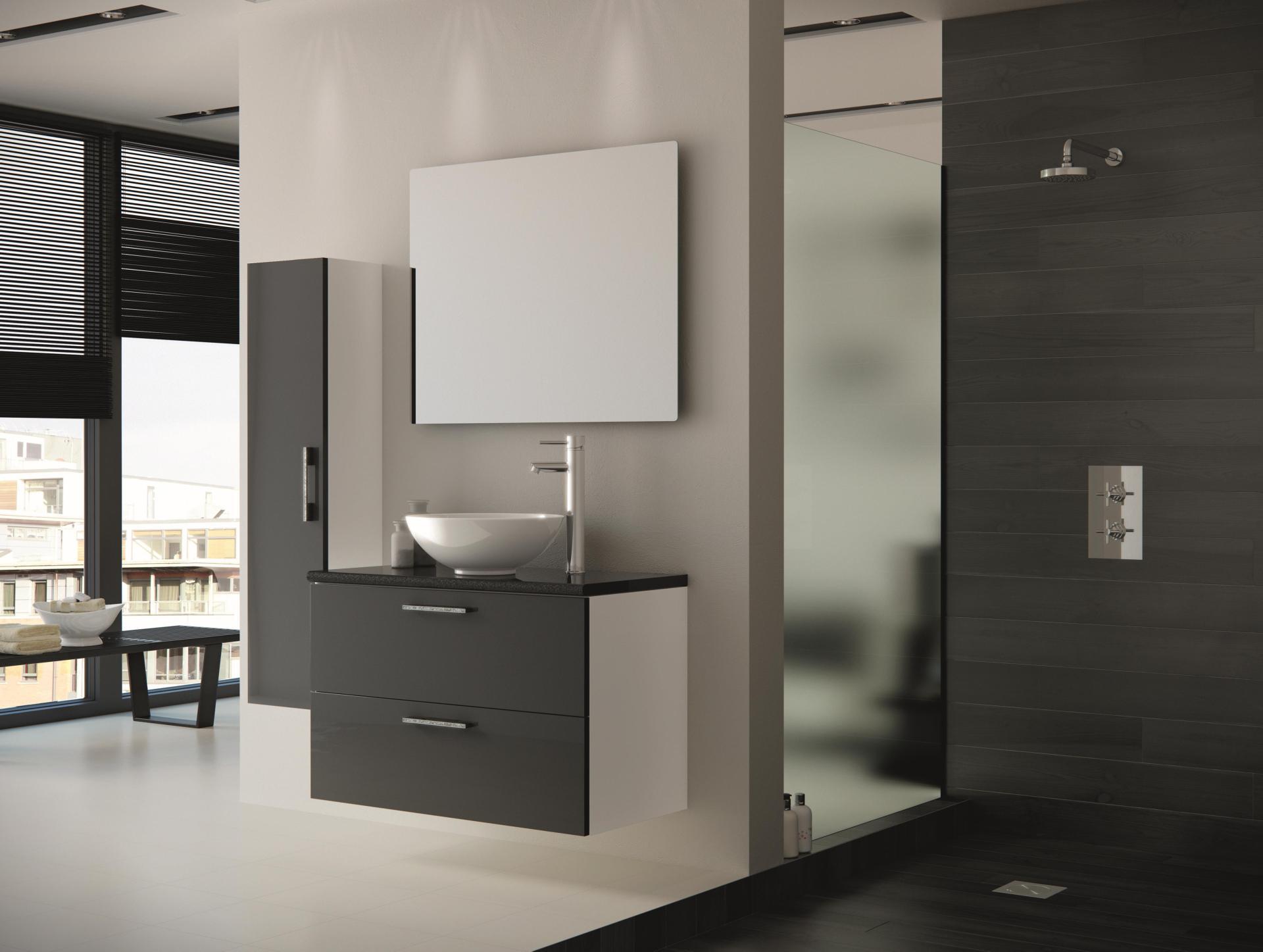 Ванная мебель дизайн Мойка кухонная Schock Genius 90C C-150 лунный камень