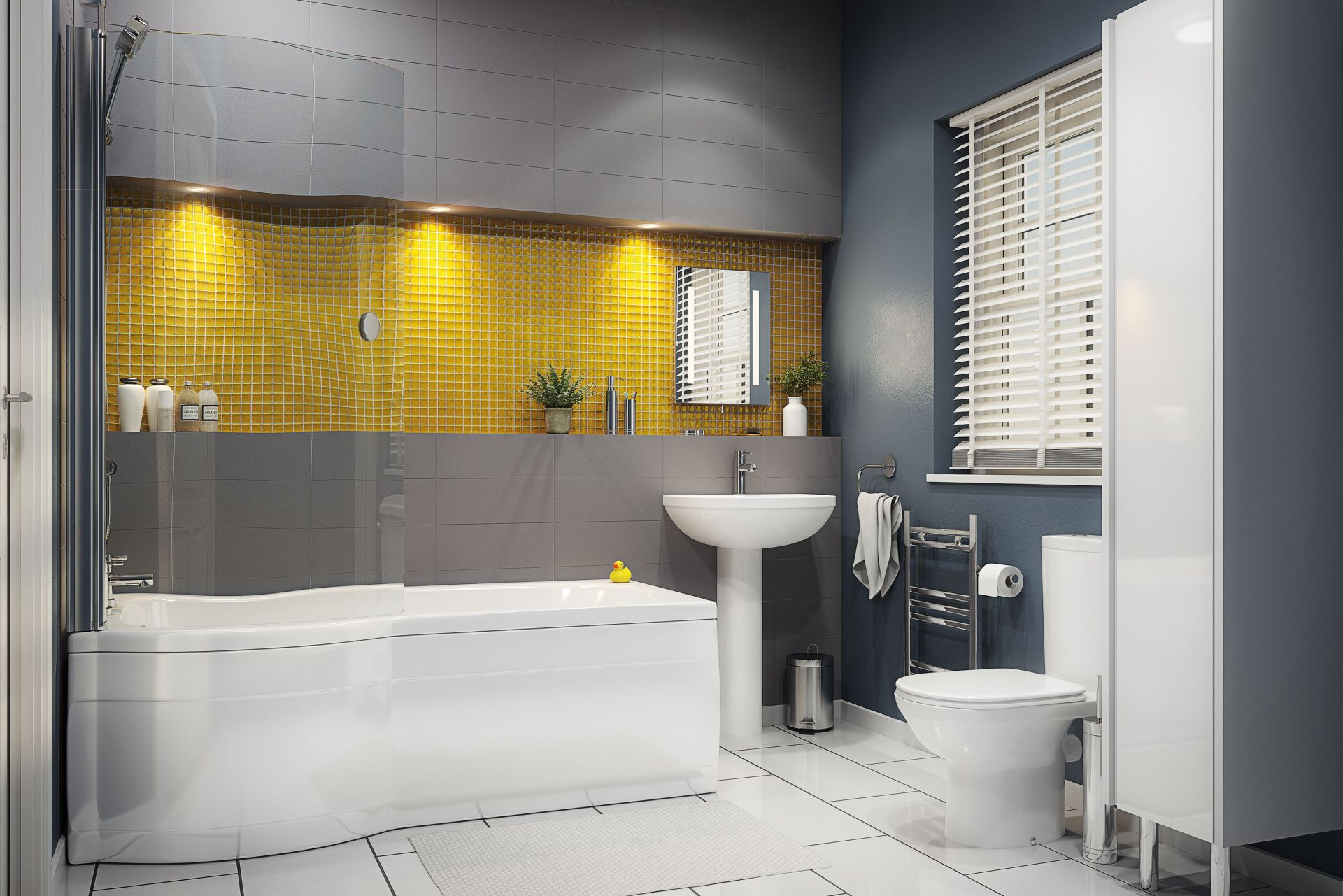 Дизайн 2017 ванной комнаты