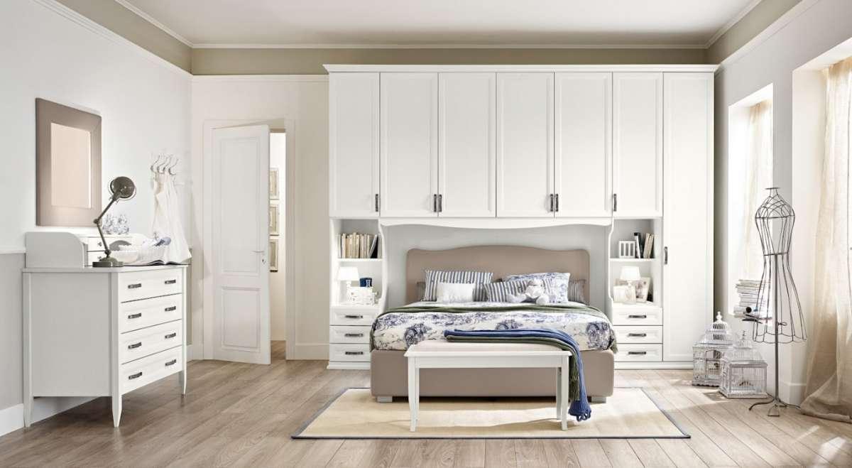 Интерьеры спален со светлой мебелью