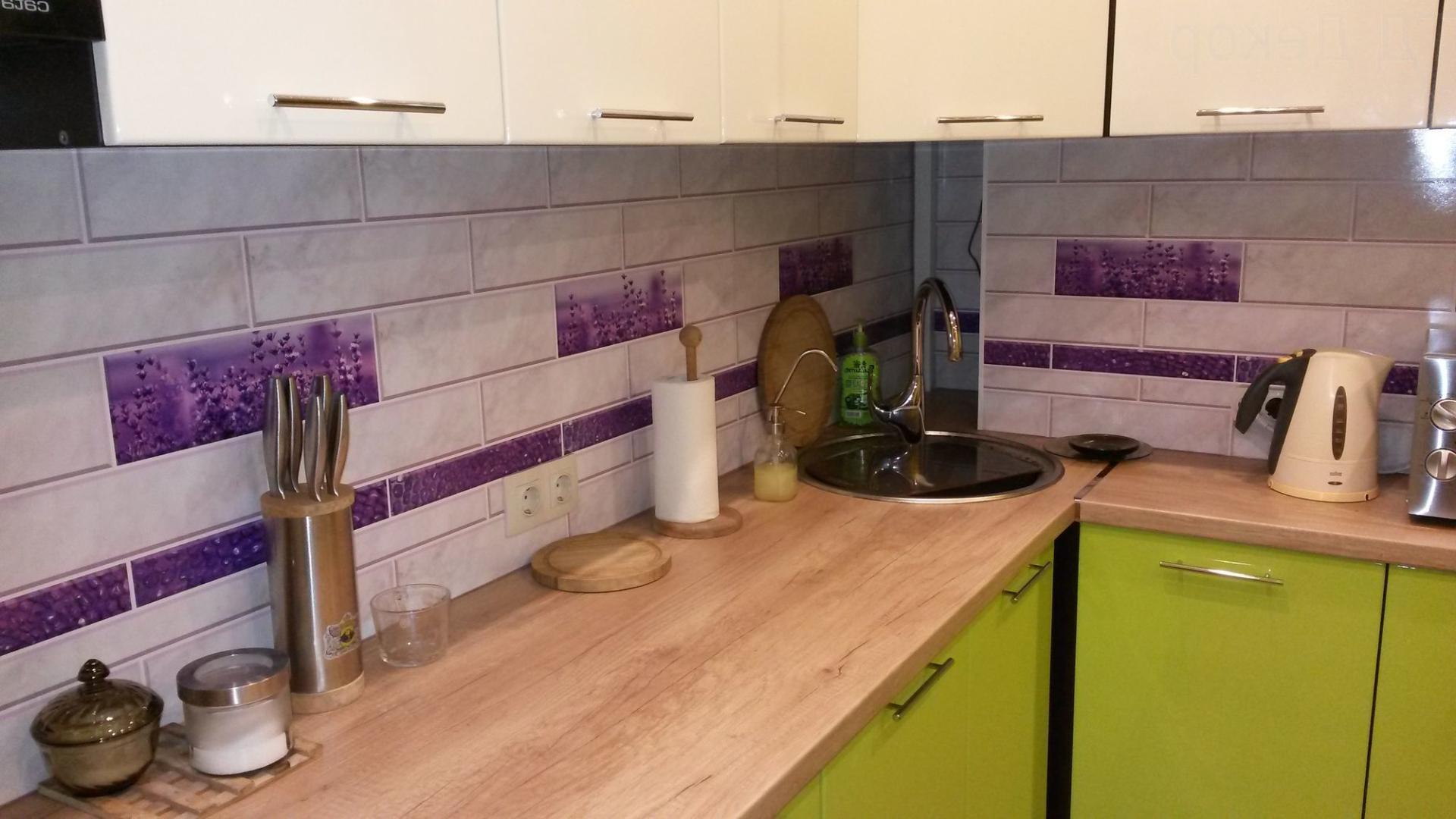 Фотографии фартуков для кухни из плитки