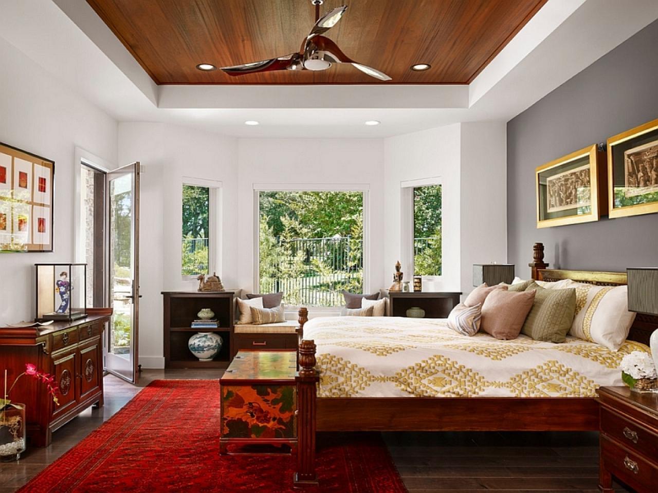 Interior decorating in asian style, modern interior design trends