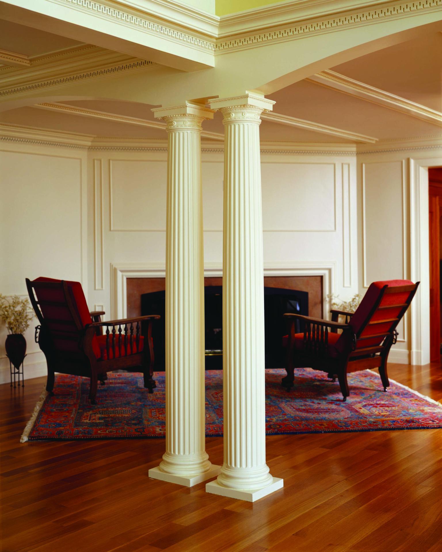 комнаты с колоннами картинки иначе, так осталась